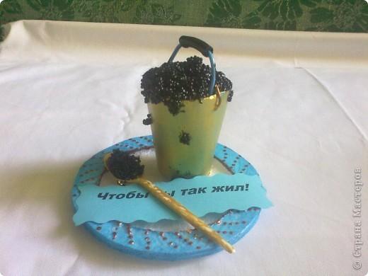 """Кофейное дерево, высота 20 см, зерна клеила на ПВА, а """"цветочки"""" - Титаном Подарила Женскому клубу """"Магнолия"""" фото 3"""