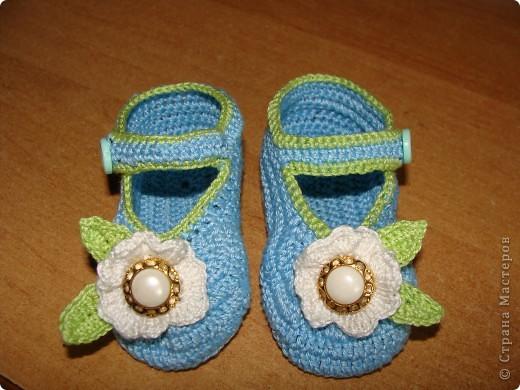голубые туфельки фото 1