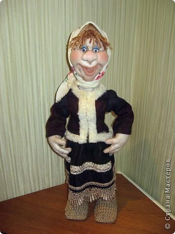 Моя Варвара. Выполнена в скульптурно-текстильной технике. Капрон. фото 2