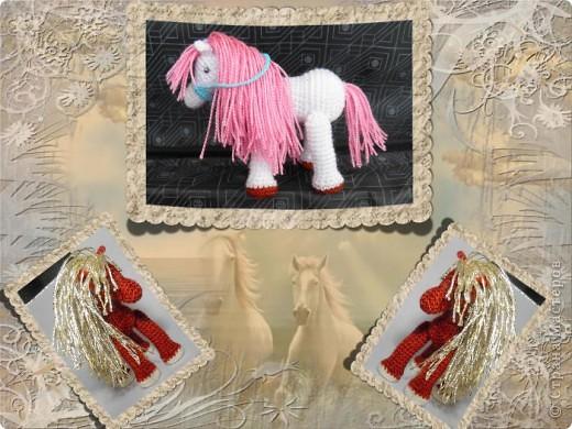 Вот какие лошадки получились для любимой племяшки))) фото 5