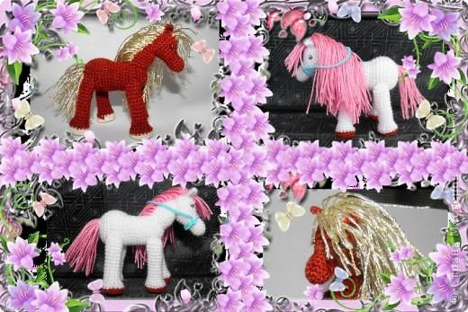 Вот какие лошадки получились для любимой племяшки))) фото 6