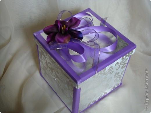 Коробочки под бокалы и наборы фото 1