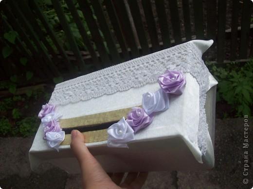 Коробочка для денег на свадьбу подруге, очень хочется услышать отзывы)) фото 2