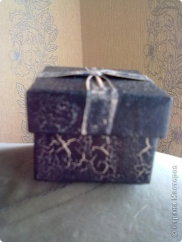 идея оформления подарочной коробочки фото 2