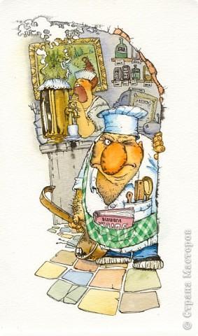 Посвящается моему мужу :) Кухня его вотчина, поэтому он лелеет ее и заставляет это же делать всем членам семьи.  Всеми доступными методами ( включая топор) :))) Шутка!:)) фото 3