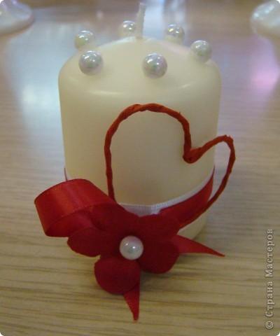 Свечи ко дню Влюбленных=) фото 1