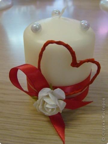 Свечи ко дню Влюбленных=) фото 3