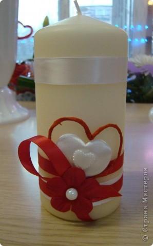 Свечи ко дню Влюбленных=) фото 6