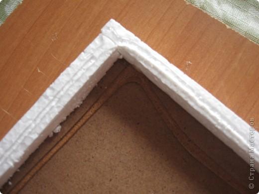 Рамочка делается очень просто, может быть пригодится кому-нибудь на заметку. фото 6