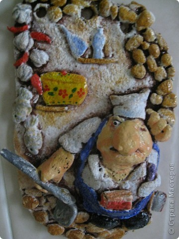 Посвящается моему мужу :) Кухня его вотчина, поэтому он лелеет ее и заставляет это же делать всем членам семьи.  Всеми доступными методами ( включая топор) :))) Шутка!:)) фото 1