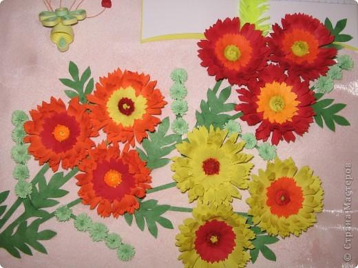 Увидела у Ольги Ольшак картину, очень понравилась. Дочка пойдет осенью в первый класс и решили заранее сделать подарок первой учительнице. фото 4