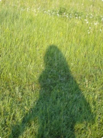"""Сегодня я ходила """"выгуливать"""" свои поделки! это вот я иду! ))) фото 1"""