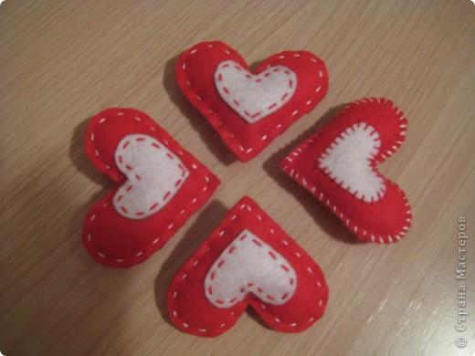 Сердечки -брошки