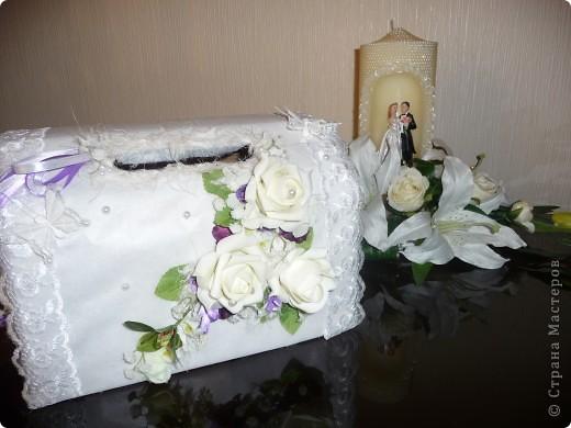 Свадебные аксессуары:ларец, семейный очаг... фото 1