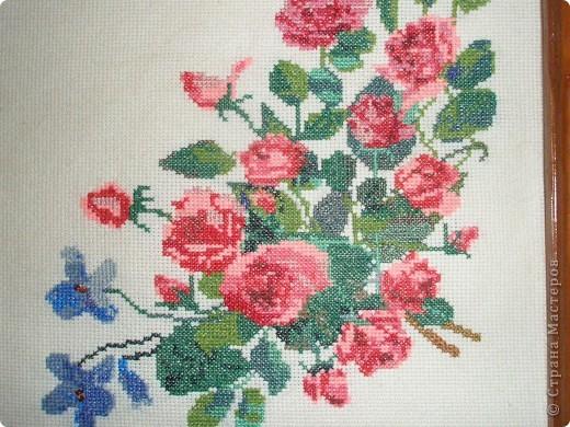 Вышивка Букет роз