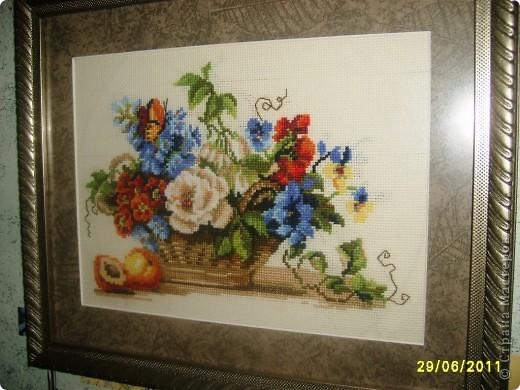 Цветы и фрукты фото 2