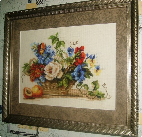 Цветы и фрукты фото 1