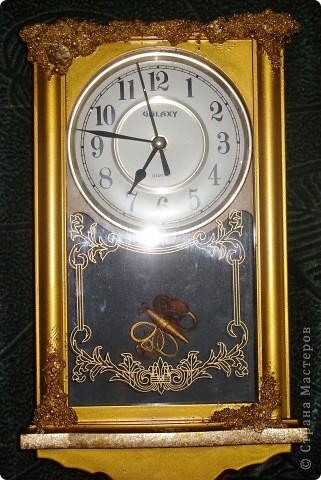 Часы декорировала для брата фото 1