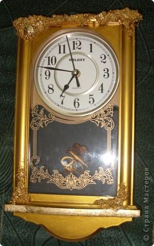 Часы декорировала для брата фото 2