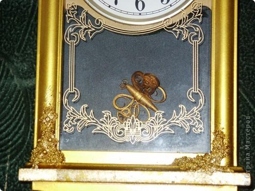 Часы декорировала для брата фото 3