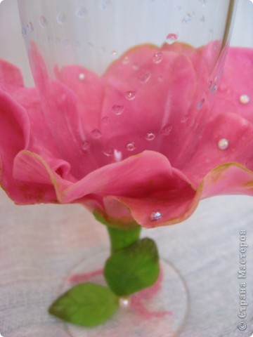 Фужер роза фото 2