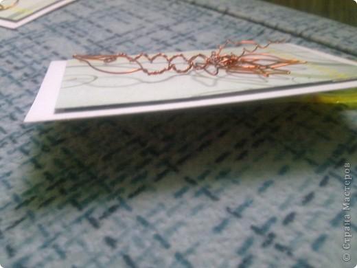 Крутила - крутила проволочку в руках, и накрутила на целую серию! Цветы из проволоки выглядят очень интересно. фото 8