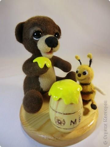 Мишка Топтышка, мед и Пчёлка фото 2