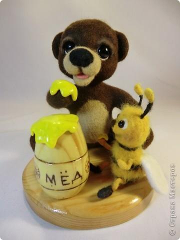 Мишка Топтышка, мед и Пчёлка фото 3