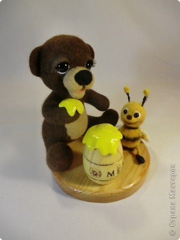 Мишка Топтышка, мед и Пчёлка фото 6