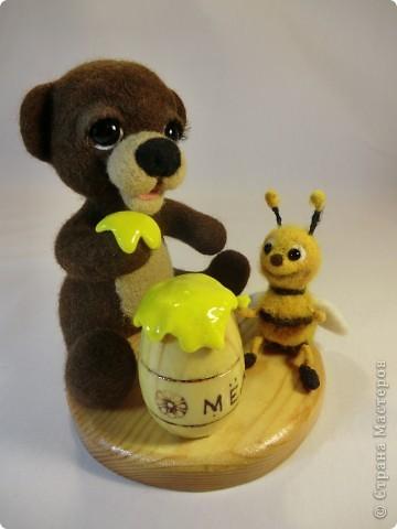 Мишка Топтышка, мед и Пчёлка фото 7