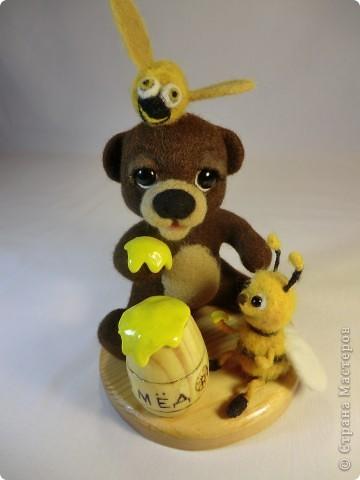 Мишка Топтышка, мед и Пчёлка фото 8