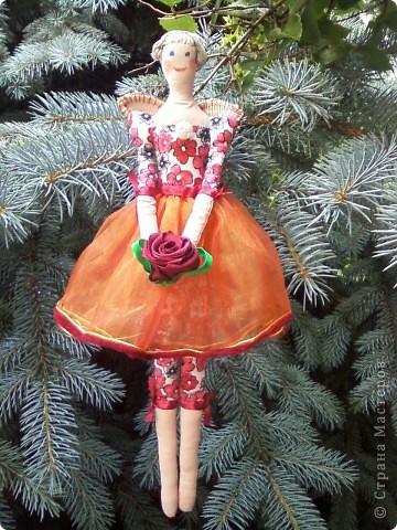Тильда Фея с цветком