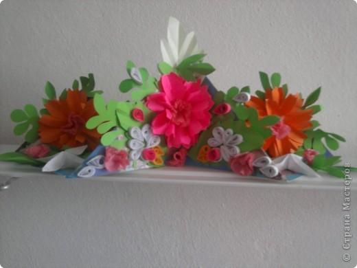 Залишилися квіти від сувенірів і ось така вийшла квіткова діарама... фото 1