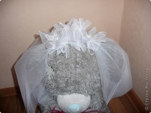 Свадебный медведь и корсаж на руку подружкам невесты... фото 4
