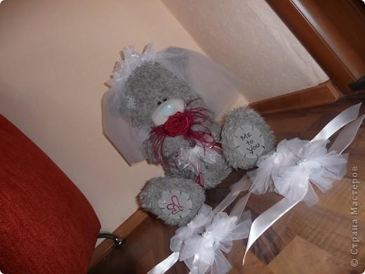 Свадебный медведь и корсаж на руку подружкам невесты... фото 2