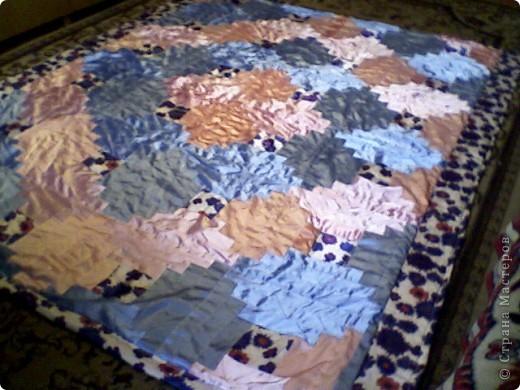 Лоскутное одеяло фото 1