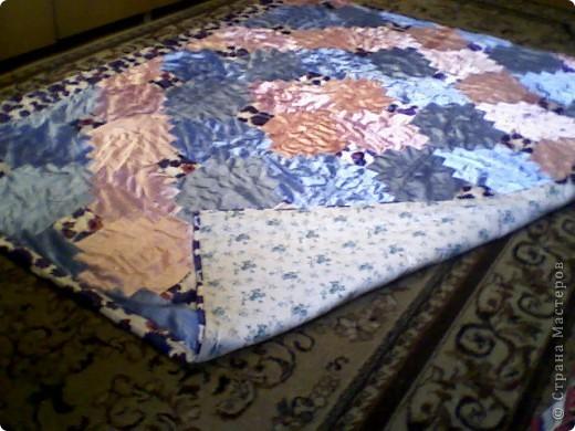 Лоскутное одеяло фото 2