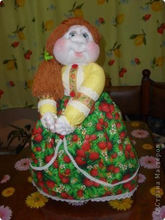 Аэтой куколке имени я не дала,ее назовет новая хозяйка.Надеюсь ,что она ей понравится. фото 1
