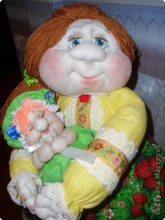 Аэтой куколке имени я не дала,ее назовет новая хозяйка.Надеюсь ,что она ей понравится. фото 2