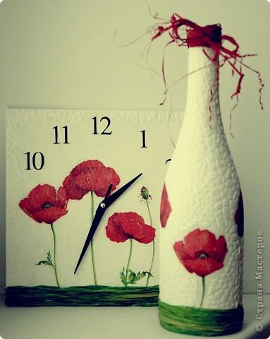 Бутылка и часы! фото 1