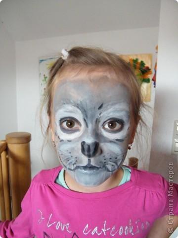 Детский боди-арт и выступление дочкиной театральной группы фото 1