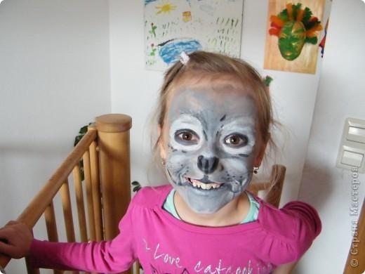 Детский боди-арт и выступление дочкиной театральной группы фото 2
