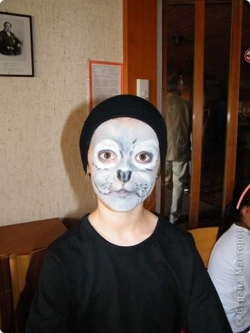Детский боди-арт и выступление дочкиной театральной группы фото 3