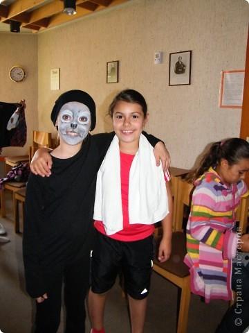 Детский боди-арт и выступление дочкиной театральной группы фото 4