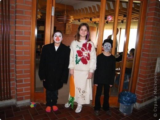 Детский боди-арт и выступление дочкиной театральной группы фото 5