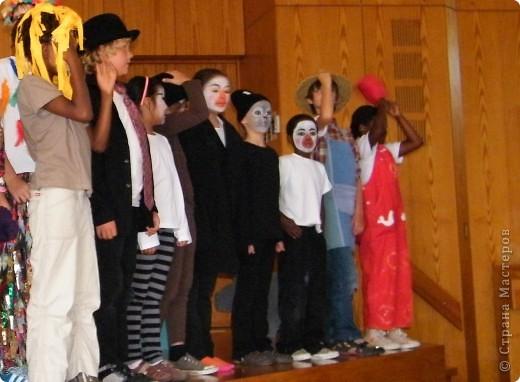 Детский боди-арт и выступление дочкиной театральной группы фото 8