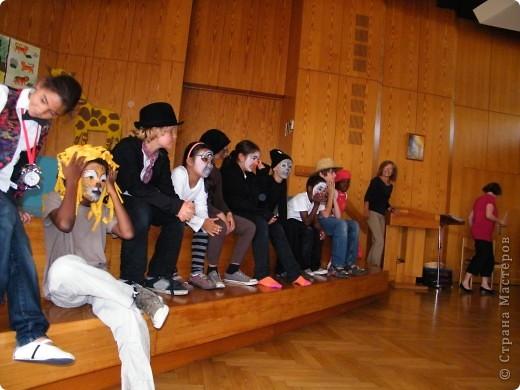 Детский боди-арт и выступление дочкиной театральной группы фото 6