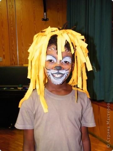 Детский боди-арт и выступление дочкиной театральной группы фото 11