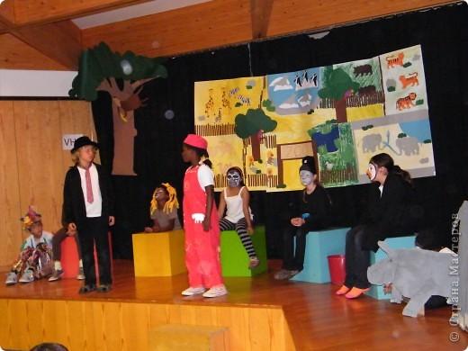 Детский боди-арт и выступление дочкиной театральной группы фото 9
