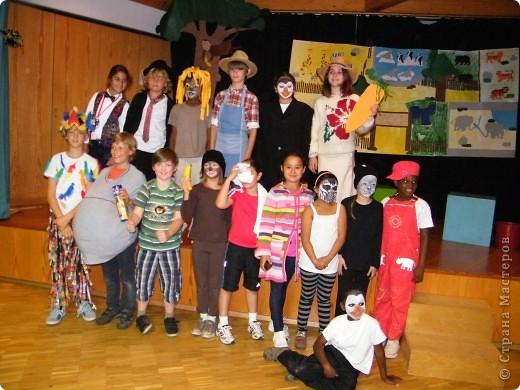 Детский боди-арт и выступление дочкиной театральной группы фото 17